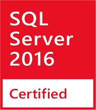 SQL Server 2016 Certified