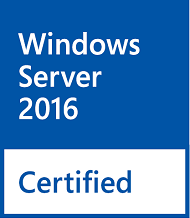 Windows Server 2016 Certified
